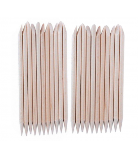 Patyczki drewniane dwustronne 115 mm 25 sztuk