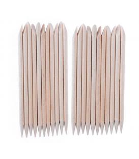 Patyczki Drewniane Dwustronne 25 sztuk