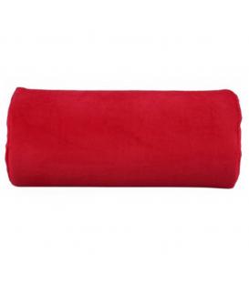 Poduszka frote pod dłoń czerwona