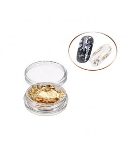 PAZŁOTKO złotko folia chrom złoto miedź srebro metal