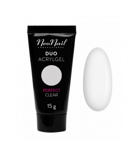 Neonail duo acrylgel perfect clear 15g gęsty
