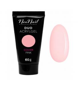 Neonail duo acrylgel cover pink 60g gęsty