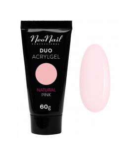 Neonail duo acrylgel natural pink 60g gęsty