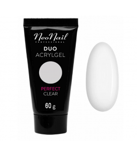 Neonail duo acrylgel perfect clear 60g gęsty