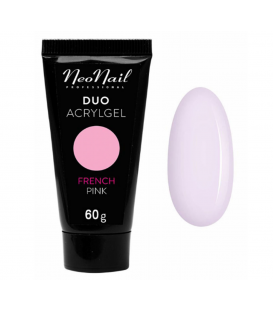 Neonail duo acrylgel french pink 60g gęsty