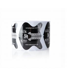 Nails Company szablony do przedłużania paznokci czarne nc girl 50szt