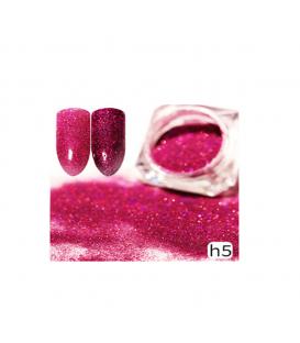 Efekt sparkling dust holo szron 2w1 w słoiczku h5 - amazing line