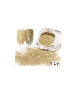 Efekt sparkling dust holo szron 2w1 w słoiczku h10 - amazing line