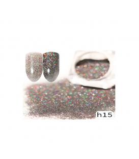 Efekt sparkling dust holo szron 2w1 w słoiczku h15 - amazing line