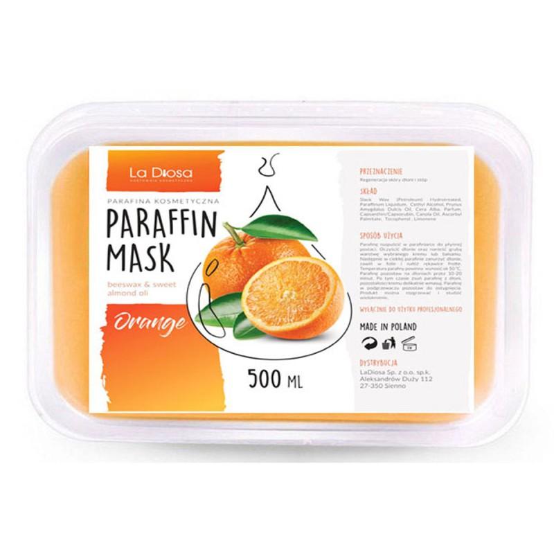Profesjonalna parafina kosmetyczna 500ml Orange