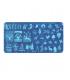 Blaszka świąteczne wzory rozmiar s 60x120 - xy02
