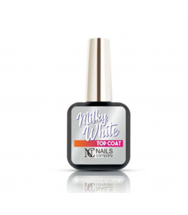 Nails company Milky White Top Coat 6ml