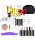Neonail zestaw do manicure hybrydowego Happiness Set + kosmetyczka gratis