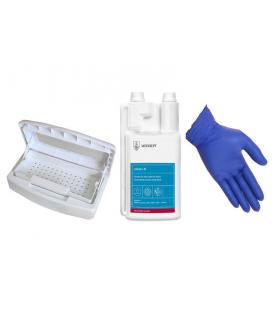 Zestaw do dezynfekcji wanienka alodes rękawiczki