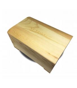 Kuferek drewniany Skrzynka na lakiery Semilac