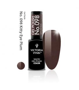 Victoria Vynn gel polish kitty eye plum 098