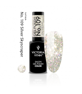 Victoria Vynn gel polish silver skyscarpet 109