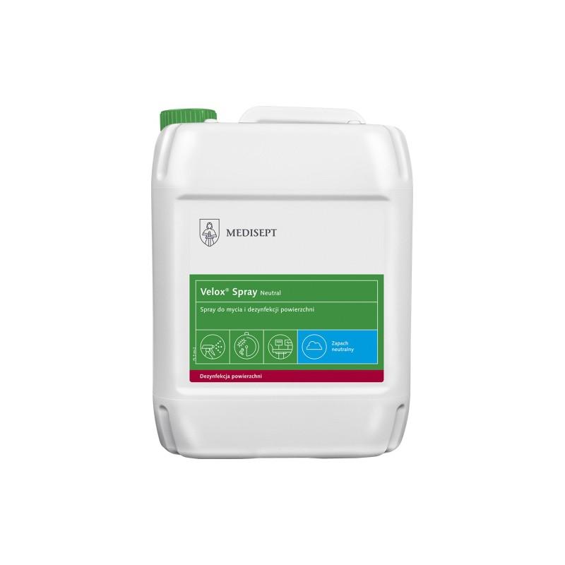 Velox Spray płyn do dezynfekcji powierzchni 5L neutral