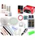 Zestaw manicure hybrydowy INDIGO LED 36W 4xlakier