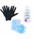 Venus żel antybakteryjny do rąk 50ml + maseczki + rękawiczki