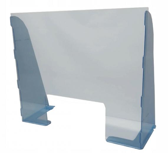 Osłona plexi antywirusowa 80 cm x 67 cm 3mm grubości