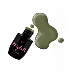 MylaQ lakier hybrydowy 5ml military green M068