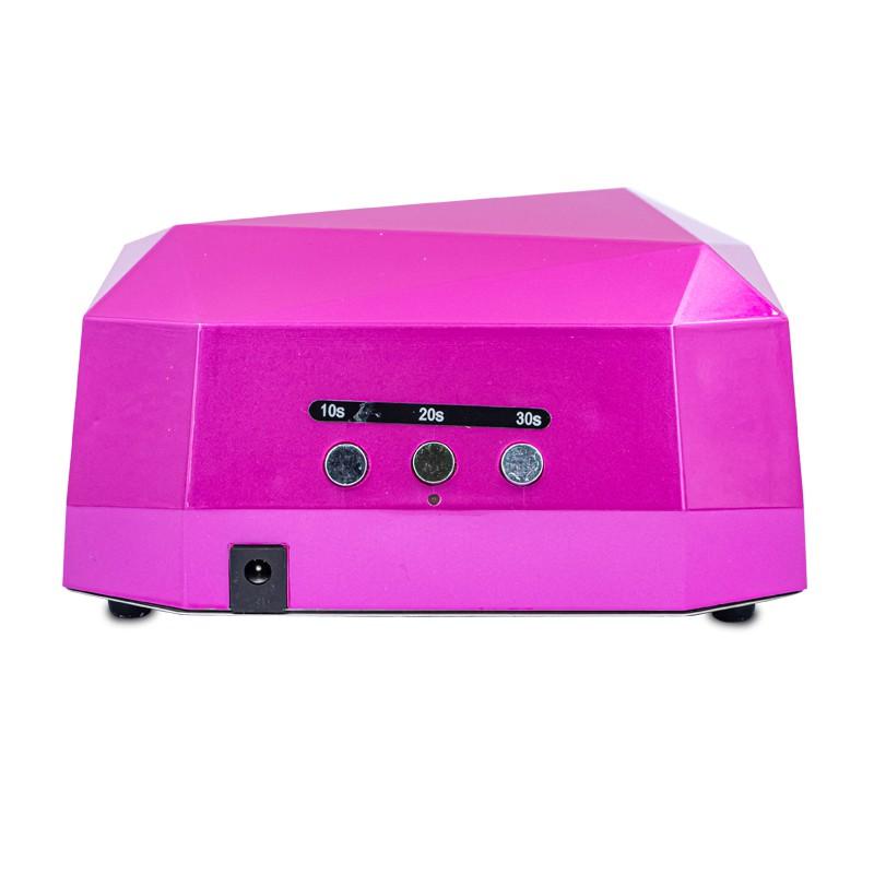 Led lampa ccfl uv 36w diamond sensor hybryda Róż