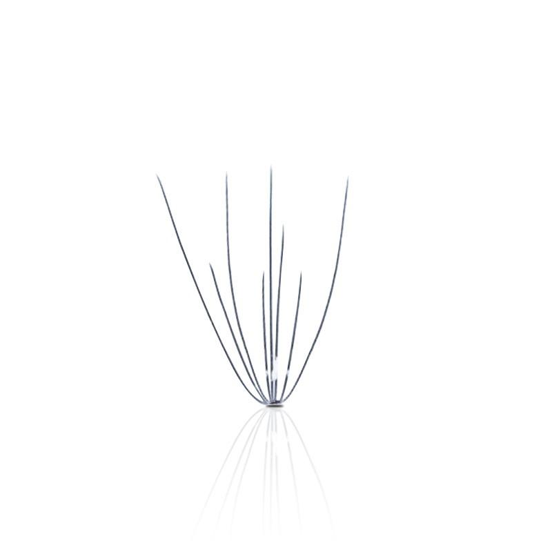 Wachlarzyki rzęsy 6w1 wonder lashes B 0,08 8mm