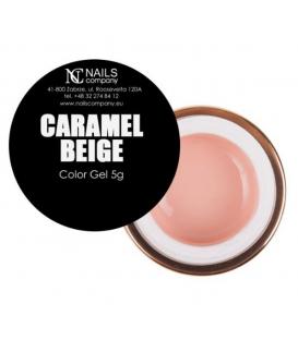 WYPRZEDAŻ Nails company żel kolorowy do zdobień 5g caramel beige