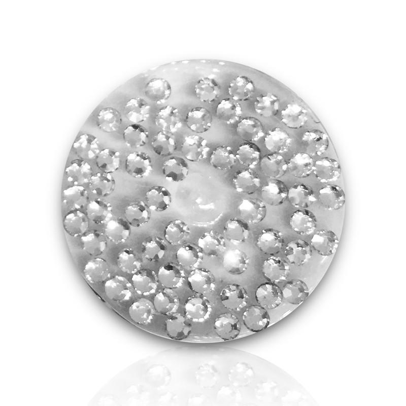 1440 szt. Cyrkonie Szlifowane Crystal clear 6 rozmiarów