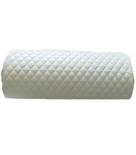 Poduszka eco skóra podkładka pod dłonie biała
