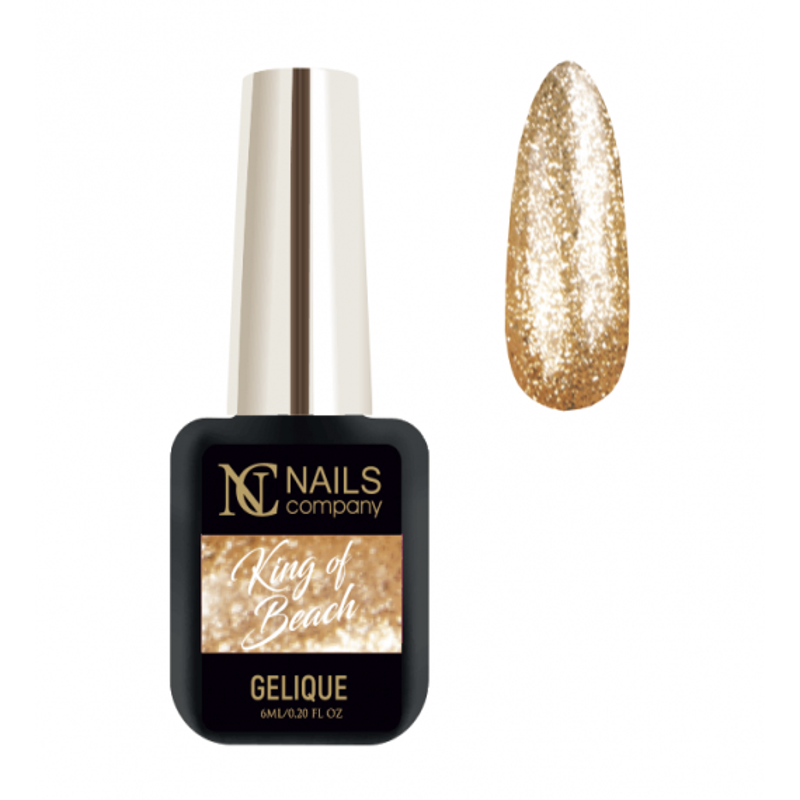 Nails company KING OF BEACH - lakier hybrydowy 6 ml