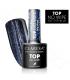 Claresa Top No Wipe glitter BLUE 5ml