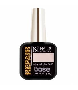 Nails Company baza repair base Milky Pink Glam Silver 11ml