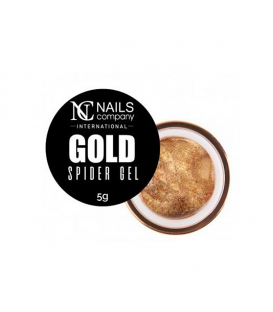 Nails company spider gel geometryczny do zdobień gold 5g