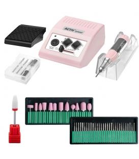Frezarka do Manicure Pedicure JSDA JD500 35W + Zestaw Frezów
